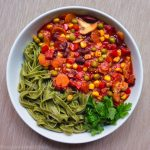 Rainbow marinara (oil-free!)
