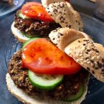 Curried Lentil Walnut Burgers (vegan!)